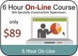 6-Hour On-Line Package